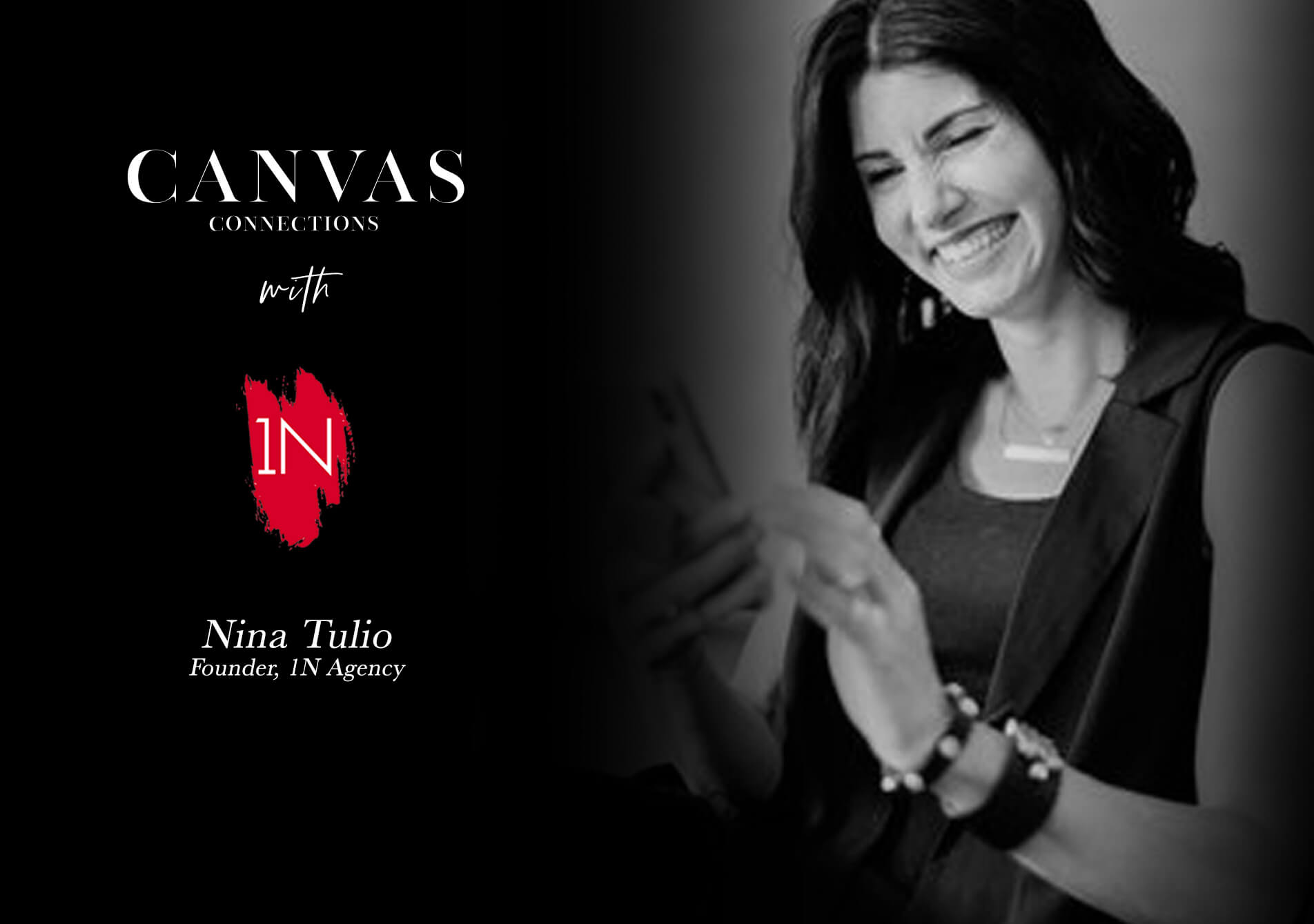 Canvas Connections with Nina Tulio; Grow yourself, Grow your business.